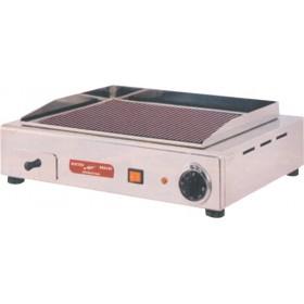 Plancha Fast Grill vitrocéramique infrarouge plaque de cuisson rainurée