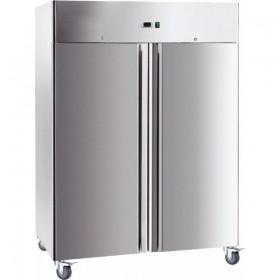 Armoire INOX réfrigérée 1400   GN 2/1 - 1 porte - Froid négatif